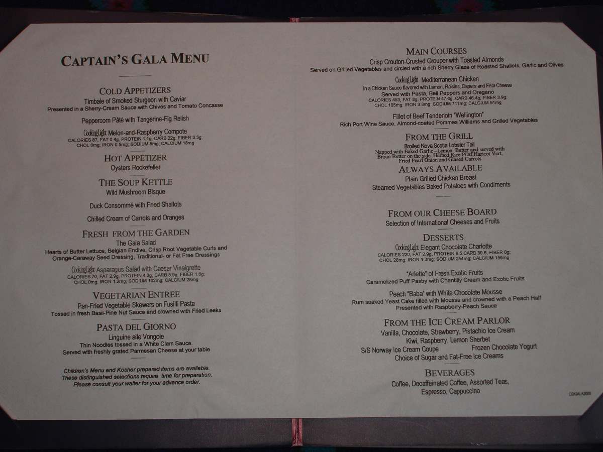 NCL Restaurant Menus 4 Cruise Critic Message Board Forums : menumon from boards.cruisecritic.com size 1200 x 900 jpeg 257kB